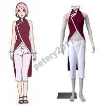 NARUTO Sakura Haruno Cosplay Costume Halloween Anime Costumes