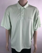 COLUMBIA PFG Men's polo Shirt Size Large OMNI-SHADE Vented Polyester Polo Green
