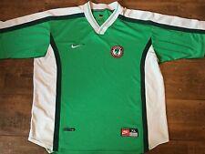 1998 2000 Nigeria Adults XL Football Shirt Camiseta Top Maillot Jersey