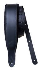BLACK  LEATHER   VELVET-PADDED STRAP MINOTAUR NEW XL
