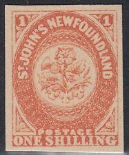 Newfoundland RARE Royal 1857 1sh Facsimile, Forgery, Counterfeit, Falsch