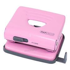 Rapesco Papel De Metal Rosa A4 A5 A6 2 agujeros Punch Ponchadora Accesorio De Escritorio De Oficina