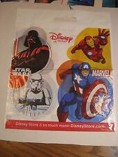 "Disney Outlet Store - Plastic Shopping Bag - 17"" x 14"" Star Wars, Marvel, Frozen"