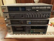 SONY TA V 30 STEREO Component System 1980 Vintage  TAPE RADIO AMPLIFIER