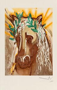 Le Cheval du Printemps - Les Chevaux de Dali by Salvador Dali Art Print