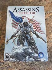 Assassins Creed III (3) STEELBOOK - ALEX ROSS ARTWORK. Xbox 360 - Both Discs