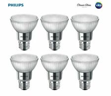 6 Pack Philips LED 50 Watt Equivalent Classic Glass PAR20 Dimmable LED Flood