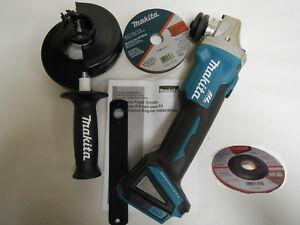 "Makita XAG04Z Brushless 5"" 125mm Angle Grinder Cordless Cut-off Tool 18V DGA504"