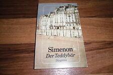 Georges Simenon -- TEDDYBÄR // Diogenes 1989