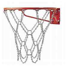Basketball Hoop Chain Net Ring Heavy Duty Steel Rim Replacement Rust Free New