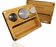 KIT by Stash - Compact, Mobile, Strong All-in-One Bamboo Smoking Kit - #1 Best