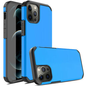 For iPhone 12 Pro Max / 11 / XS Shockproof Armor Case / Lens & Screen Protector