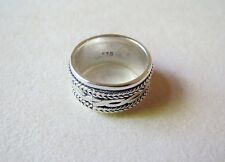 925 Sterling Silver Ring Size 5.1 Grams Size 5.25