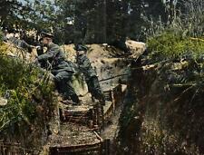 (70493) WK I / Militär - Auf Posten - im Schützengraben
