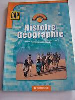 HISTOIRE GEOGRAPHIE EDUCATION CIVIQUE  BAC PRO 2de TRES BON ETAT .
