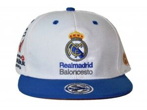 TURKISH AIRLINES EUROLEAGUE BASKETBALL F4 LONDON 2013 REAL MADRID CAP HAT NEW!!!