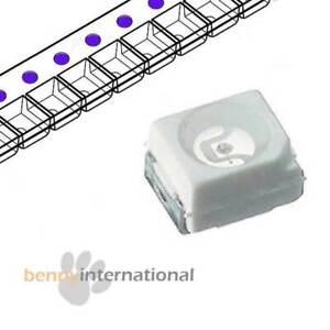 50x UV SMD LED 3528 PLCC SMT Super Bright 1210 Arduino Purple - AUS STOCK