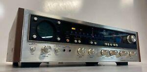 Vintage Pioneer QX-747 Quad AM/FM Stereo Receiver . Serviced - Excellent