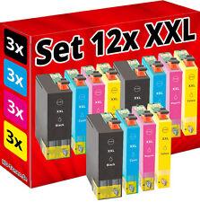 12x XXL cartuchos t1301 t1302 t1303 t1304 ningún Epson original b42wd