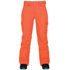 Bonfire CORA 10K/8K Womens Snowboard Ski Pants Apricot Orange Medium NEW