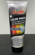 Turtle Wax SILVER Color Magic Car Polish Shines Restores Scratches & Swirl Marks