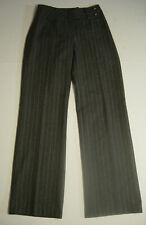 Sinequanone Paris Womens Pants Made In France Gray Pinstripe Sz T38 38 EUR Slack