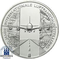 Deutschland 10 Euro 2009 Luftfahrtausstellung ILA Münze bankfrisch in Münzkapsel