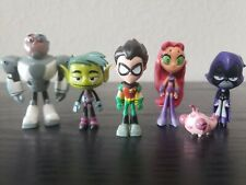 New listing Teen Titans Go! Teen Titans 2 Inch Mini Figures Deluxe Six Pack Set