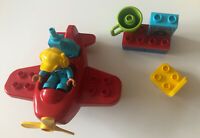 LEGO Duplo Town Propeller Aeroplane And Workshop Toddlers Building Toy Set