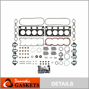 Fits 02-11 Chevrolet GMC Buick Cadillac 5.3L 4.8L V8 OHV MLS Head Gasket Set