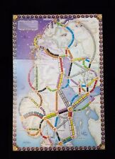 Ticket To Ride Nordic Countries Game Board BOARD ONLY Replacement Part New