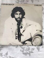 Stephen Bishop Careless vinyl LP