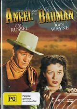 ANGEL AND THE BADMAN, John Wayne, Gail Russel. 1947. Wounded Gunfighter. NEW