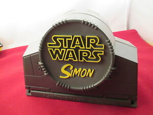 vintage SIMON Electronic Space Battle Game STAR WARS Episode I Hasbro works fine