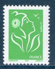 TIMBRE 3733a NEUF XX LUXE MARIANNE DE LAMOUCHE - VERT SANS VALEUR - TVP 20 GR.