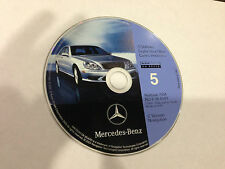 1999 2000 Mercedes S320 S420 S500 S600 Navigation Map #5 MI Partial WI IL IN OH