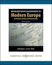 Representative Government in Modern Europe, Good Condition Book, Laver, Michael,