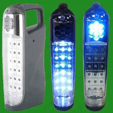 18 LED rechargeable URGENT LANTERNE TORCHE, 20 heures vie pour powercuts camping