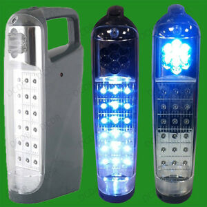 18 LED Rechargeable Emergency Security Spot Light Lantern Torch, 20 hour life
