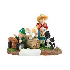 Dept 56 Kids With Kids Alpine Village Series 4030340 New In Box 2013