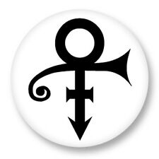 """Pin Button Badge Ø25mm 1"""" Prince Pop Love Symbol The King Of Music The Artist"""