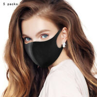 15Pcs Space Cotton Washable Reusable Mouth Face Muffle Cover Unisex Safe Strik