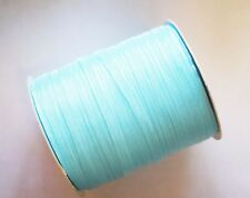 15 Meters Sheer Organza Ribbon - Light Turquoise - 6mm