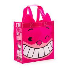 More details for cheshire cat  mxyz vinyl bag / mini shopping / lunch bag - disney store - bnwt