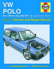 3245 Haynes VW Polo Petrol (Nov 1990 - Aug 1994) H to L Workshop Manual