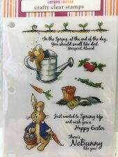 Craft Lounge Crafty Clear Stamps - CCM081 - Hoppin' Into Spring - NEW