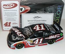 2014 Kurt Busch #41 Haas Automation 1/24 Liquid Color Elite Diecast Autographed