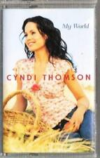 New: CYNDI THOMSON- My World CASSETTE