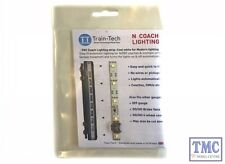 TTCN1 Train Tech N Scale Coach Lighting Strip - Cool White