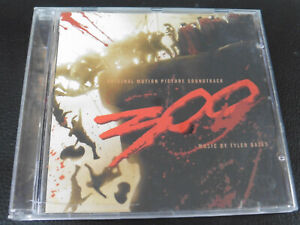 TYLER BATES - 300 ORIGINAL MOTION PICTURE SOUNDTRACK - 2007 CD